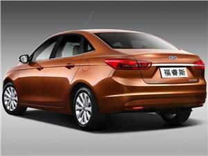 Предпросмотр ford escort concept 2014 вид сзади