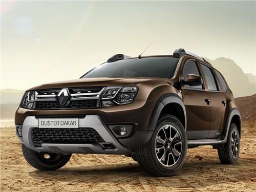 Новость про Renault Duster - Renault представил новую спецверсию кроссовера Duster