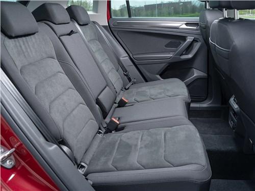 Volkswagen Tiguan (2021) задний диван