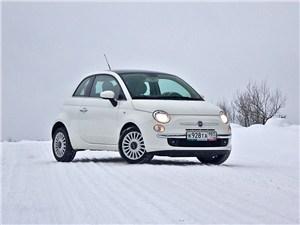 Fiat 500 - fiat 500 2008 вид спереди