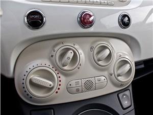 Предпросмотр fiat 500 2008 центральная консоль