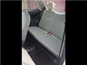 Fiat 500 2008 задний диван
