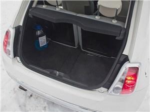 Fiat 500 2008 багажное отделение