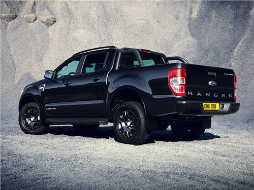 Новость про Ford Ranger - Ford Ranger Black Edition