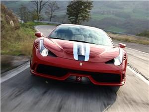 Предпросмотр ferrari 458 speciale 2014 вид спереди