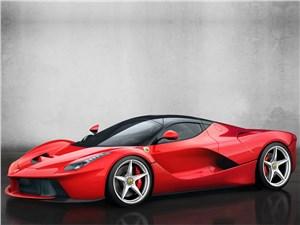 Ferrari LaFerrari 2013 вид сбоку
