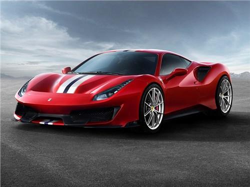 Новость про Ferrari - В Ferrari 488 Pista появилась дурь