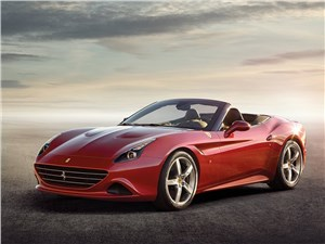 Новый Ferrari California - Ferrari California 2014 вид спереди