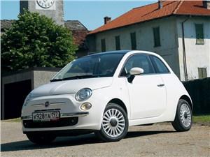 Fiat 500 - fiat 500 2011 вид спереди