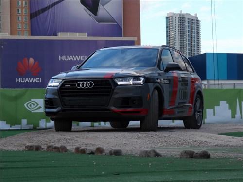 Новость про Audi Q7 - Audi и NVIDIA представили в Лас-Вегасе новую совместную разработку