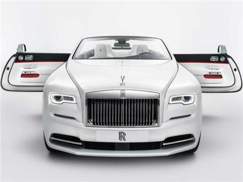 Новость про Rolls-Royce Dawn - Rolls-Royce показал новую модификацию кабриолета Dawn