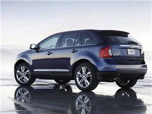 Предпросмотр ford edge 2014 вид сбоку сзади фото 2