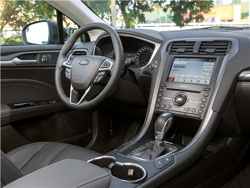 Ford Mondeo 2015 салон