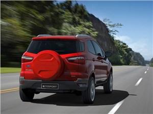 Предпросмотр ford ecosport 2013 вид сзади