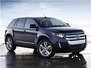 Предпросмотр ford edge 2014 вид спереди сбоку