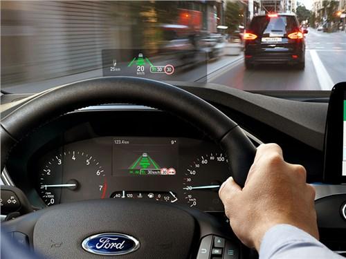 Ford сделал проекционный дисплей на основе фотолинз