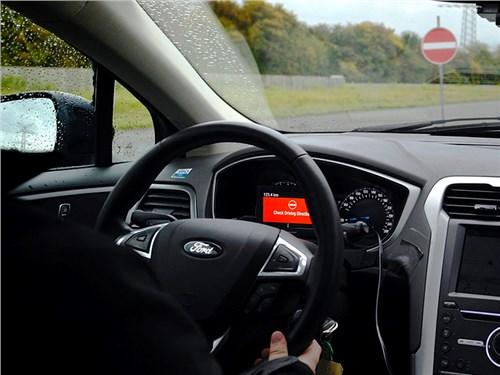 Новость про Ford Focus - Ford Wrong Way Alert