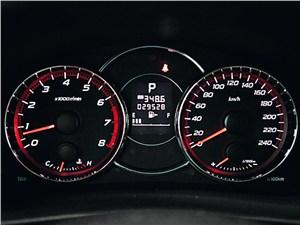 Subaru Forester 2013 приборная панель