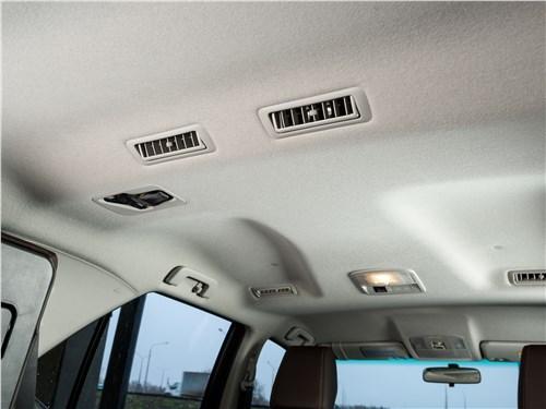 Toyota Fortuner 2016 потолок