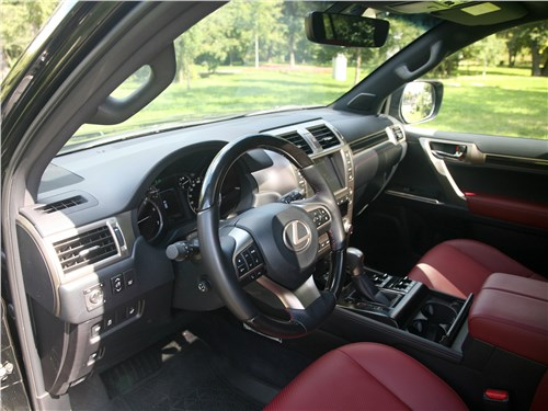 Lexus GX 460 2020 салон