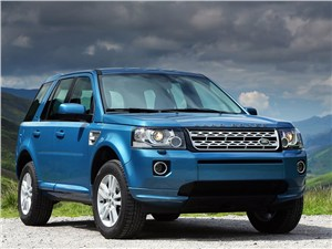 Цели и средства Freelander - Land Rover Freelander 2 2013 вид спереди