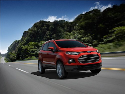 Новость про Ford EcoSport - Ford сообщил о начале отзыва своих автомобилей в России