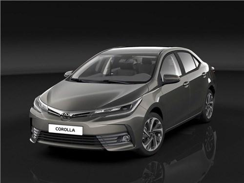 Toyota объявила российские цены на обновленный седан Corolla
