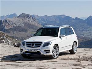Новый Mercedes-Benz GLK-Class - Mercedes-Benz GLK 2013 вид спереди