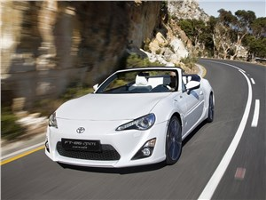 Toyota FT86 Open concept 2013 вид спереди