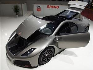 GTA Spano 2013 вид сверху