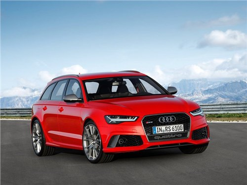 Audi разрабатывает внедорожную модификацию универсала RS6