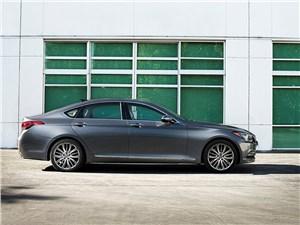 Hyundai Genesis - Hyundai Genesis 2014 вид сбоку