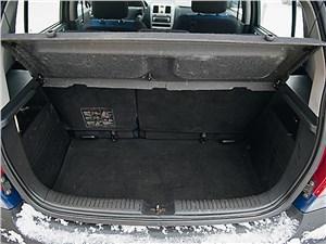 Hyundai Getz 2005 багажное отделение