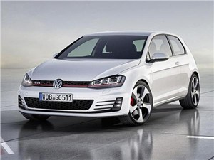 Volkswagen Golf GTI рассекретили за день до открытия выставки