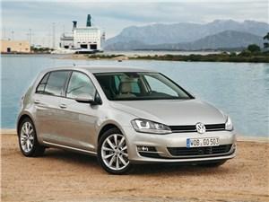 Volkswagen Golf - volkswagen golf vii 2013 вид спереди