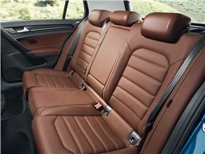 Volkswagen Golf VII 2013 задний диван