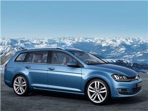 Новый Volkswagen Golf - Volkswagen Golf VII Variant 2013 вид сбоку