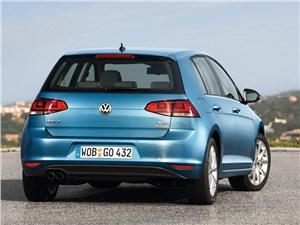 Предпросмотр volkswagen golf vii 2013 вид сзади