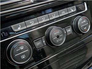 Volkswagen Golf VII 2013 управление климатом