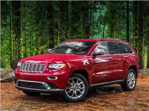 Дорогой предков (Commander V8, 5,7 л) Grand Cherokee - Jeep Grand Cherokee 2013 вид сбоку