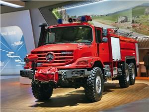 Пожарная машина на базе Mercedes-Benz Zetros