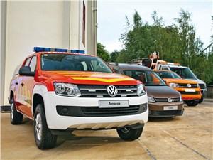 Новинки Volkswagen представили накануне открытия салона на масштабном корпоративном мероприятии