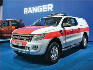 Ford Ranger для немецких спасательных служб