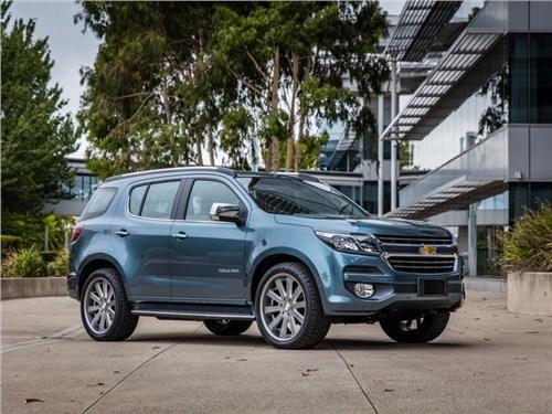 Chevrolet показала обновленный Trailblazer