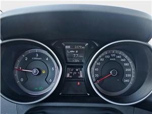 Hyundai i30 2012 приборная панель