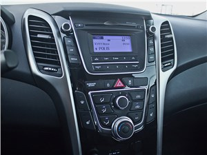 Hyundai i30 2012 центральная консоль