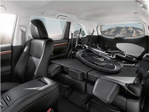 Toyota Highlander 2013 трансформация салона