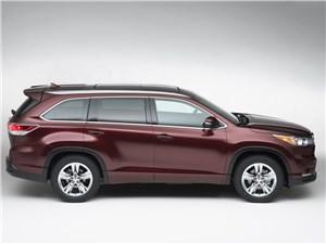 Toyota Highlander - Toyota Highlander 2013 вид сбоку