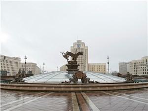 После Второй мировой войны Минск восстановили из руин