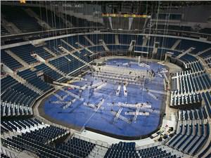 За ночь хоккейную арену можно превратить в концертный зал